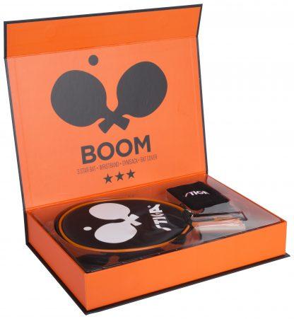 Boom 3-stjärnigt Bordtennisset Orange