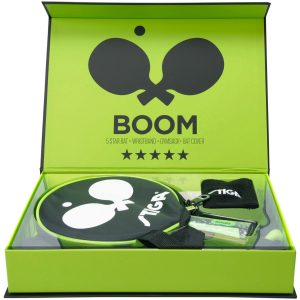 Boom 5-Star Box, Green, Onesize, Stiga
