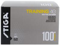 Bordtennisboll STIGA Training vit 100/F.