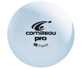 Bordtennisbollar Cornilleau Pro vit 72-pack 40 mm