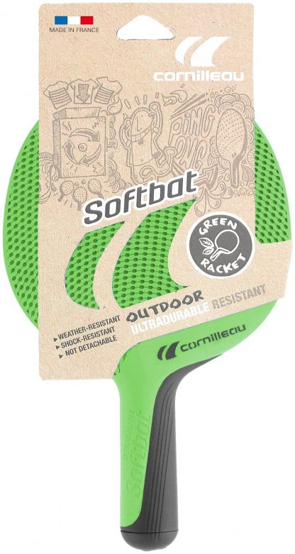 Bordtennisracket Cornilleau Softbat Eco Grön