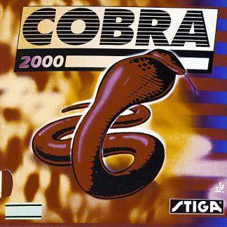 Bordtennisracket Stiga Gummi Cobra 2000 2.0 mm Röd