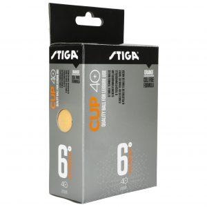 Cup 40+ 6-pack Pingisbollar Orange