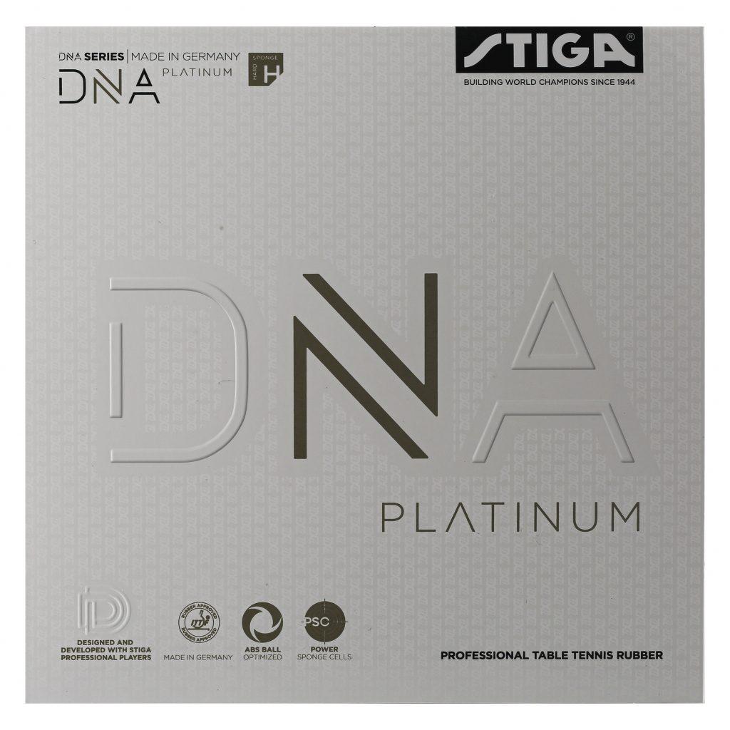 DNA Platinum H Bordtennisgummi 2,1 Svart