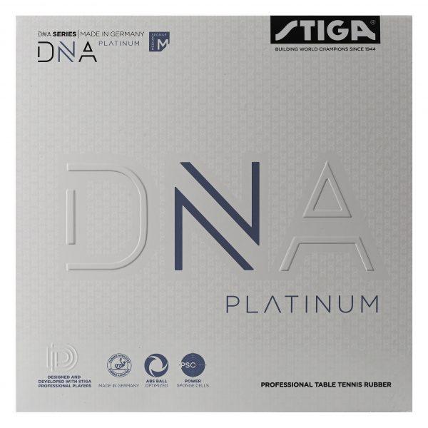 DNA Platinum M Bordtennisgummi 2,1 Svart