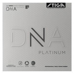 DNA Platinum S Bordtennisgummi 2,1 Svart