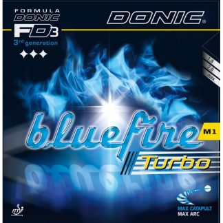 Donic bordtennisgummi Bluefire M1 Turbo