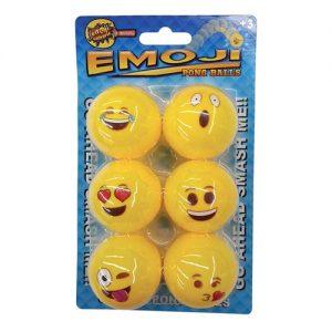 Emoji Pingisbollar