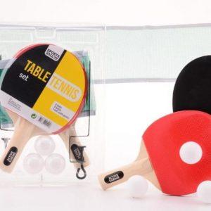 Flexibelt pingisset som går att använda på nästan alla bord!
