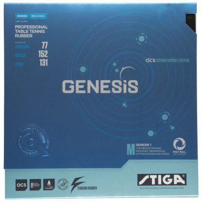 Genesis M Bordtennisgummi 2,0 Svart