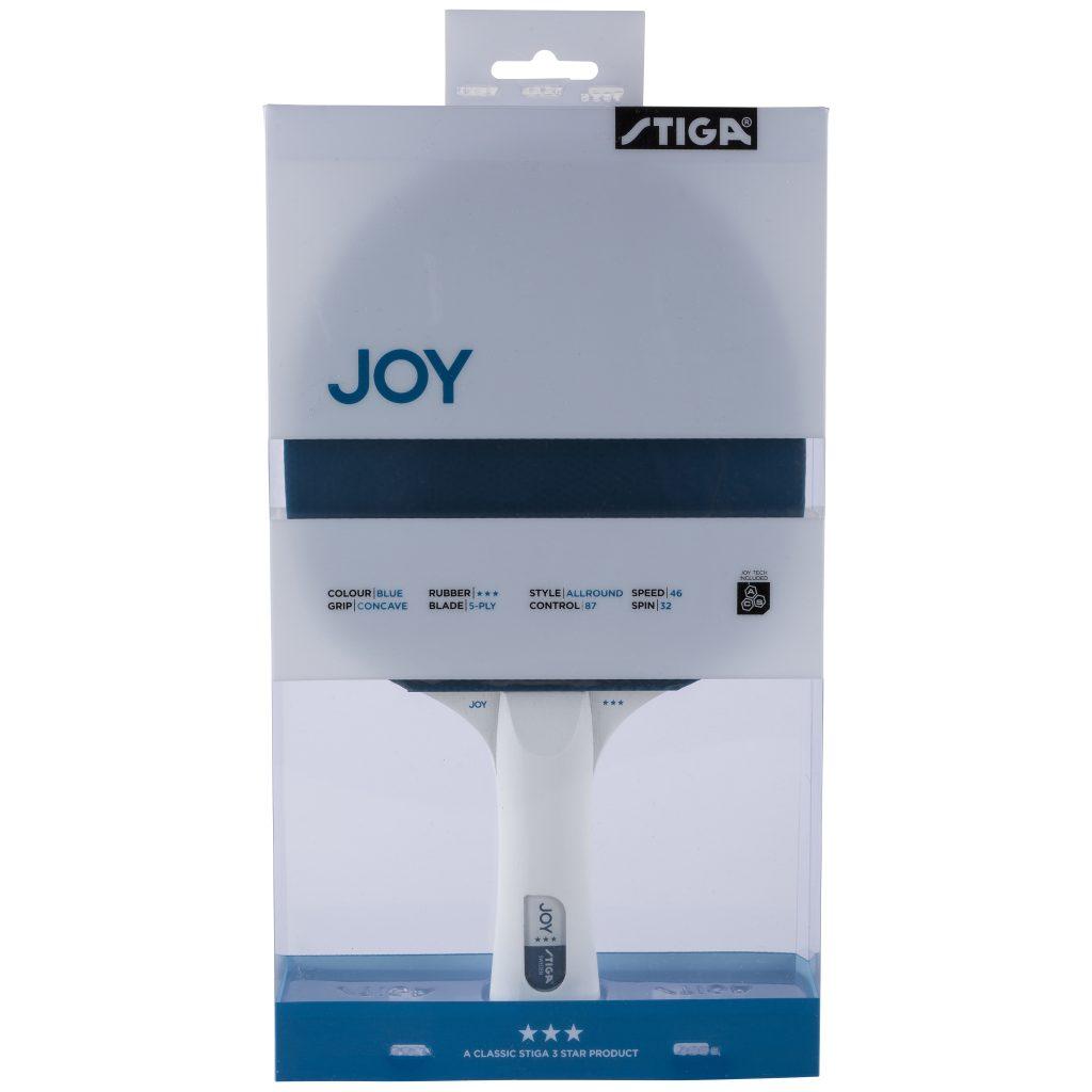 Joy 3-stjärnigt Bordtennisracket Blå