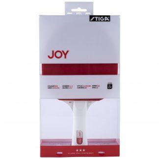 Joy 3-stjärnigt Bordtennisracket Röd