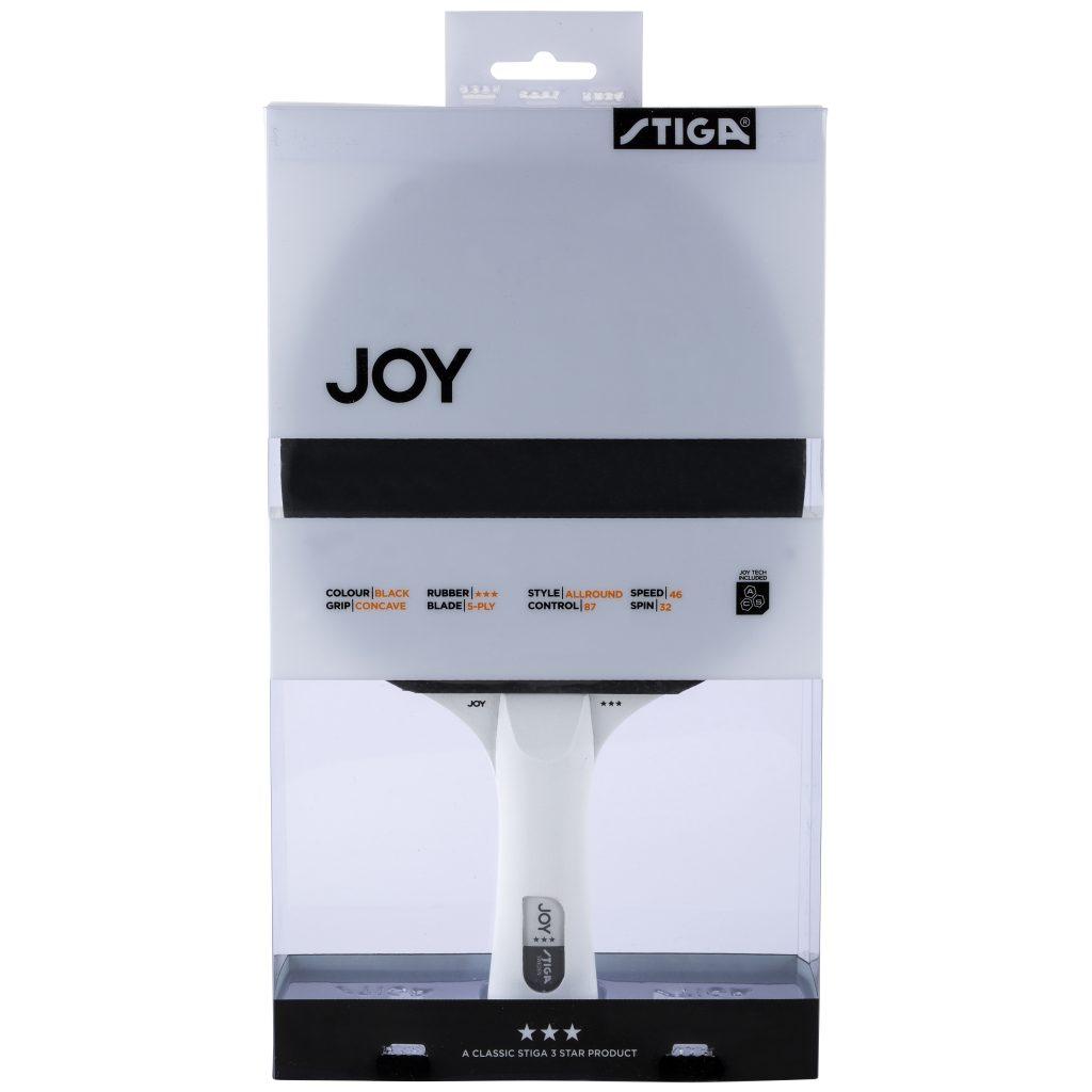 Joy 3-stjärnigt Bordtennisracket Svart