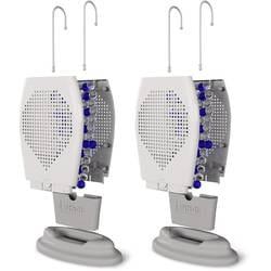 PINGI HTD2-100 Luftfuktare Vit, Grå 2 st