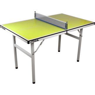 STIGA, Minibord limegrön, Pingisbord
