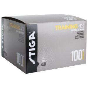Training 40+ 100-pack Pingisbollar Vit