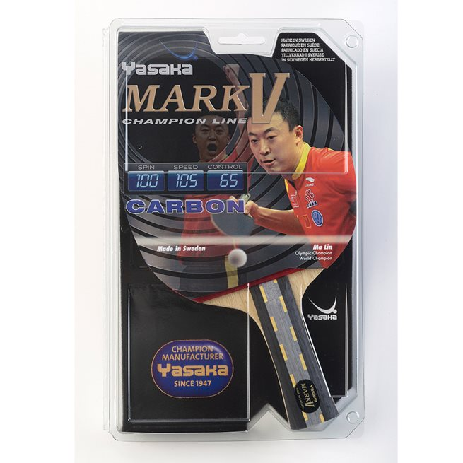Yasaka Racket Mark V Carbon, Bordtennis